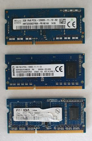 Memorie laptop 2GB DDR3 diverse modele