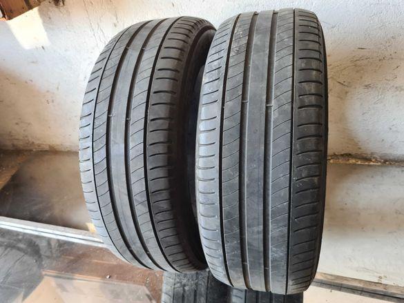 2 бр. летни гуми 215/55/17 Michelin DOT 4615 3 mm