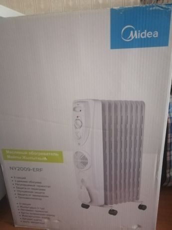 Обогреватель, масляный радиатор в коробке, абсолютно новый, подарили..