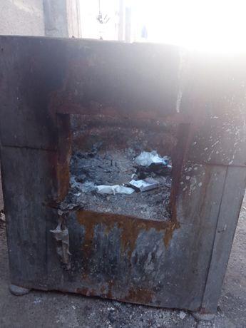 Продам очаг печка железная
