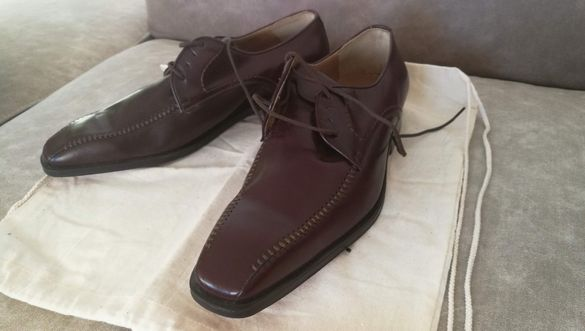 Офиц. мъжки обувки ест. кожа 42/43