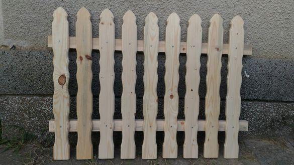 Дървени огради и елементи за тях