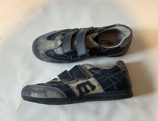 Pantofi copii, baieti, MELANIA, piele naturala , marimea 34