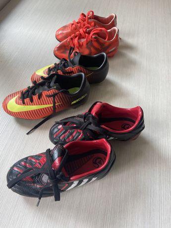 Детски футболни обувки/бутонки Nike Adidas номер 28.5/29