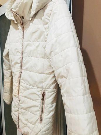 Бяло яке за момиче