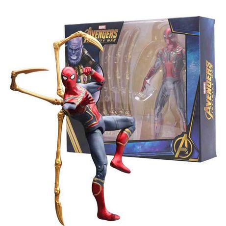 Фигурки супергероев Marvel. Марвел, мстители, человек-паук, халк тор.