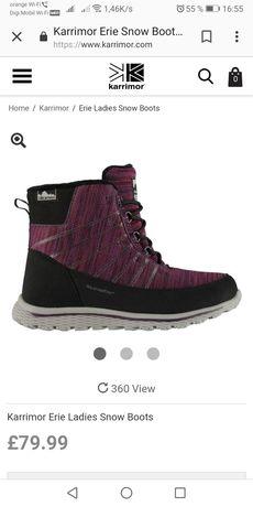 Ghete femei KarrimorErie Ladies Snow Boots , pret de achiziție 80lire