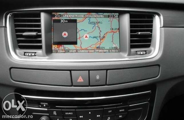 USB harta navigatie peugeot 5008 3008 wip nav+ 807 connect rt6 308 508