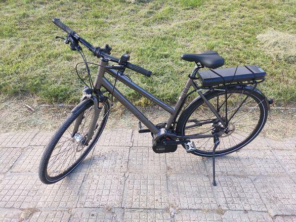 Немски електрически велосипед, колело