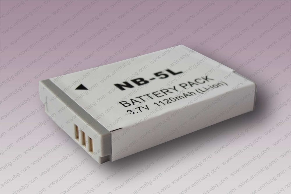 ANIMABG Батерия модел NB-5L / 5LH за Canon PowerShot