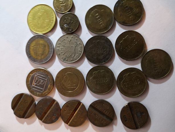 Token tokenu-ri diferite modele. Pretul este pentru toate.