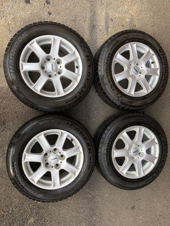 Jante aliaj 5x120mm, anvelope 195/65 R15, BMW seria 3, E36, E46, E39