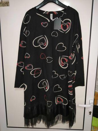 Туника-рокля с тюл