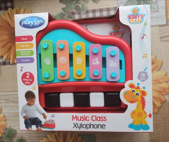 Забавна и музикална детска играчка Ксилофон