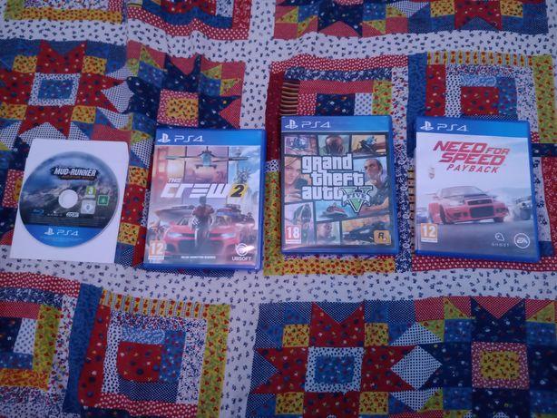 Vând / schimb jocuri PS 4