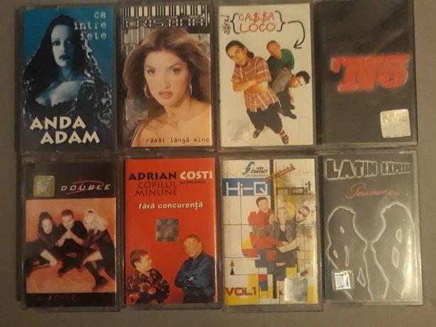 Pachet casete muzica usoara romaneasca manele pop