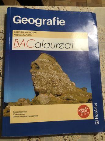 Carte de geografie pentru pregatirea examenului de bacalaureat!