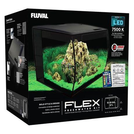 Acvariu complet Fluval Flex 57l