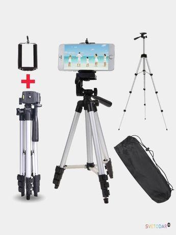 Штатив для камеры и телефона Tripod 3110 высота 1.02 м