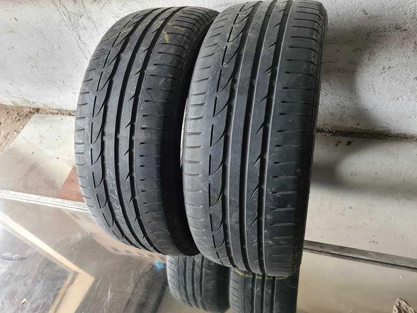 2 бр. летни гуми 235/50/18 Bridgestone 4,5 mm DOT 4211