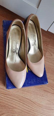 Pantofi piele naturala marimea 37