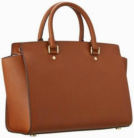 Уникална италианска чанта от естествена кожа