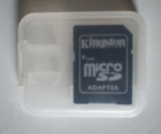 Micro SD card adapter Kingston с кутийка