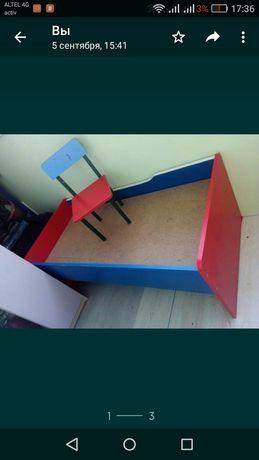 Продам детскую мебель [шкаф,стул,кровать]