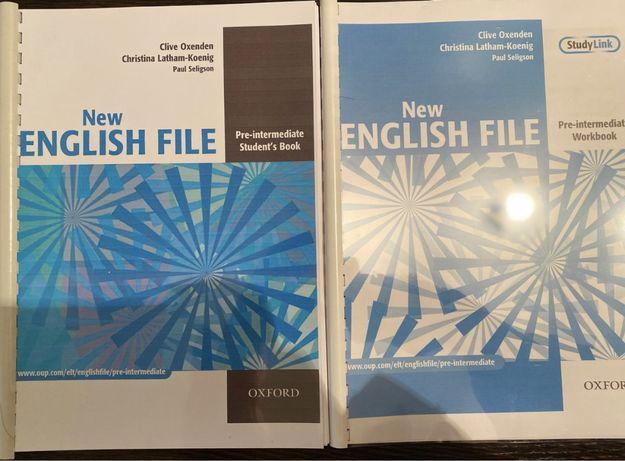 New English file Pre-intermediate  2nd edition пре-интермедиат книга