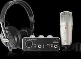Продам комплект для студии записи  Behringer U-Phoria Studio