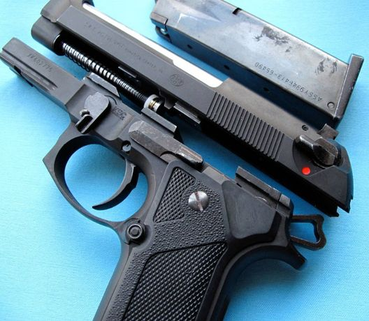 Pistol DE PRECIZIE MARE Full Metal Airsoft Co2 gaz Modificat BERETTA
