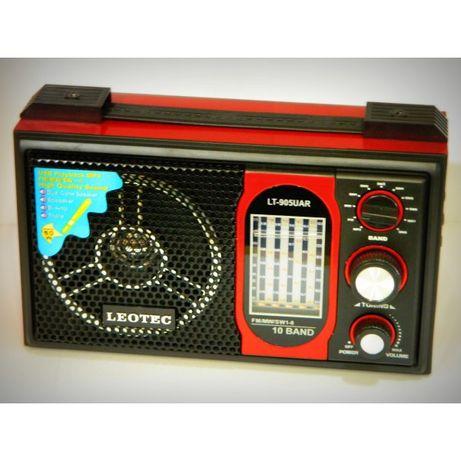 Radio MP3 Portabil cu antena rotativa, 10 benzi