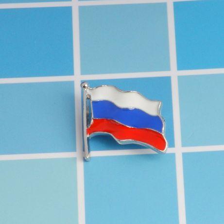 Знаме/брошка Русия за ревер