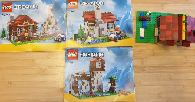 Lego Creator 31025 Casa de munte