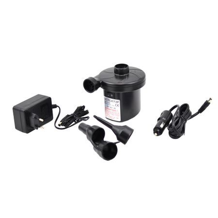 Pompa electrica pentru umflat si dezumflat saltele, piscine, 12v-24v
