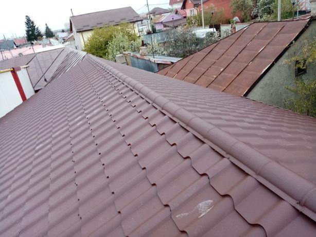 Țiglă ceramică țiglă metalică tablă fălțuită reparații acoperiș