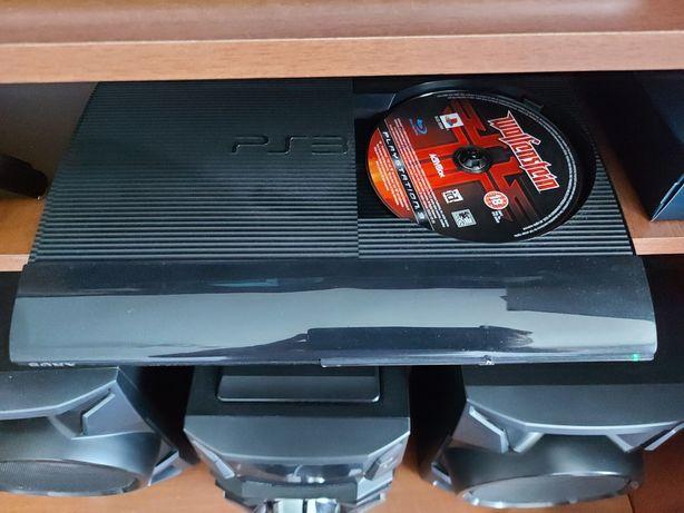 PS3  Consola Super Slim, 500 GB + 4 controllere