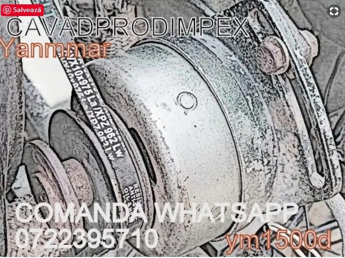 Alternator cu magnet permanent tractor YM1500d KUBOTA 12V