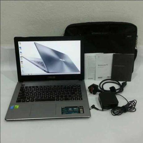 Laptop asus i5/8gb/750 gb/nvidia 740 m 2 gb