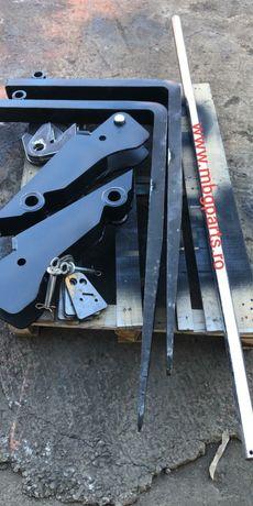 Cutite Hardox 500. Kit lame furci bobcat.Contact cheie, hardox