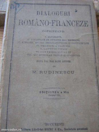M. Rudinescu - Dialoguri româno-franceze