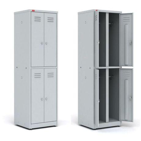 Шкафы для одежды ОПТОВЫЕ ЦЕНЫ (металлические шкафы для раздевалок)