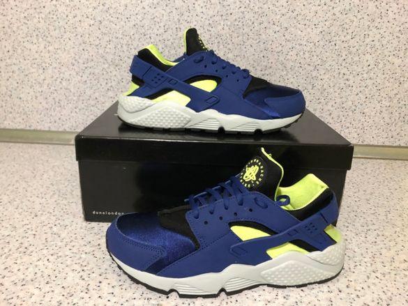 ОРИГИНАЛНИ *** Nike Air Huarache Run / Game Royal Blue