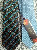 3бр.Нови 100% коприна / Silk/ вратовръзки