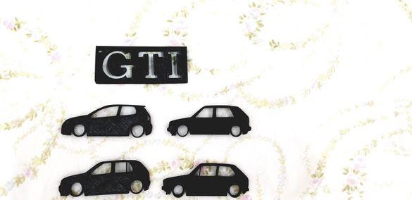 Pvc ключодържателчета VW GOLF 1,2,4,5