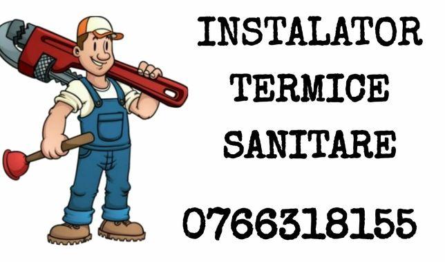 Instalator sanitare și termice