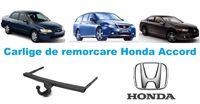Carlige de remorcare omologate RAR Honda Accord - 5 ani garantie