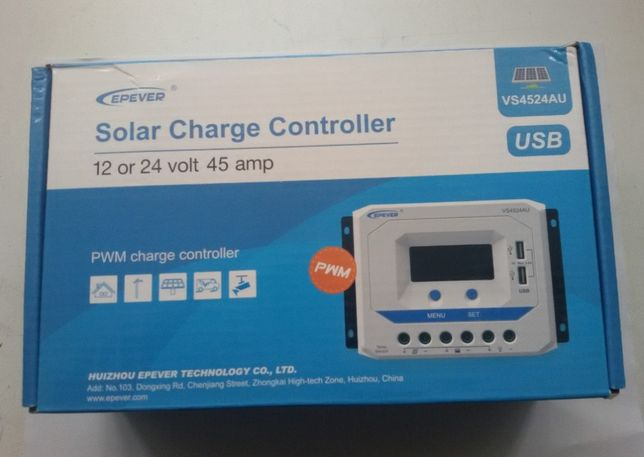 Model nou: Controler EPever, PWM 10A/12V/24V, 30A/12V/24V, 45A/12V/24V
