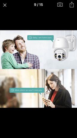 Безжична WI - FI IP камера с нощно виждане, запис
