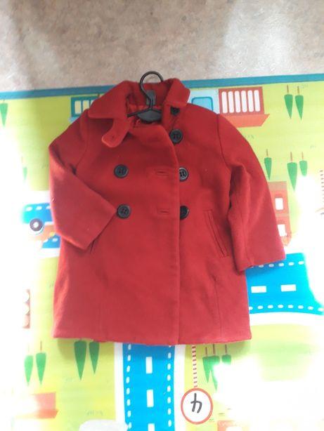 Пальто  Zara Kids на 2-3года